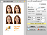 Imprima fotos de ID con professional passport photo software