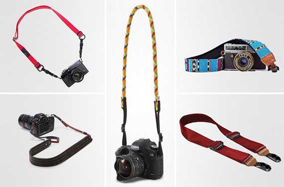 Camera strap to hold your equipment