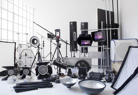 Photo studio equipment