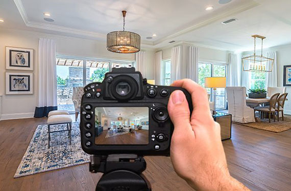 Real estate business is connected with photography