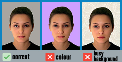UK passport photo background requirements
