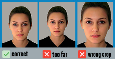 UK passport photo size specs