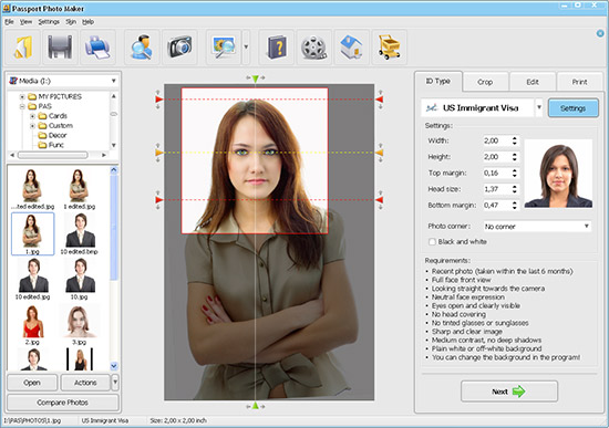 Click to view Passport Photo Maker screenshots