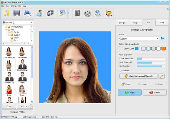 Passport Photo Maker Screenshots