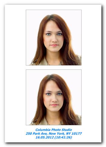 Passport Photo Maker - ID Photo Samples
